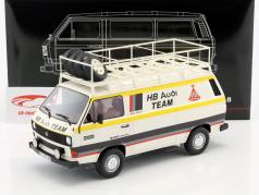 Volkswagen VW T3 van HB Audi Team white / yellow 1:18 PremiumClassiXXs
