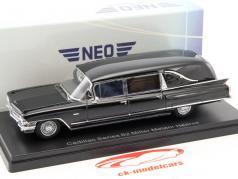 Cadillac Series 62 Miller Meteor Hearse schwarz 1:43 Neo
