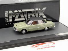 Rover 3500 P6b V8 year 1976 gray-green 1:43 Matrix