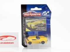 Infiniti Concept Vision Gran Turismo yellow 1:64 Majorette