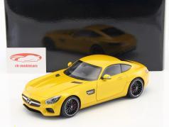 Mercedes-Benz AMG GTS year 2015 yellow 1:18 AUTOart
