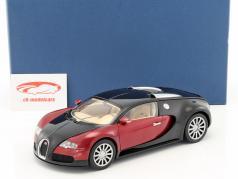Bugatti EB 16.4 Veyron anno di costruzione 2006 nero / porpora 1:18 AUTOart