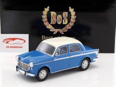 Fiat 1100 Lusso blau / weiß 1:18 BoS-Models