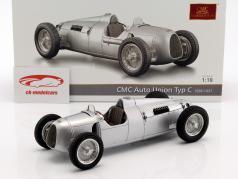 Auto Union Typ C ano de construção 1936/37 prata 1:18 CMC