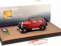 Mercedes-Benz 170 W15 Limousine year 1935 red / black 1:43 GLM