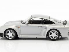 Porsche 959 year 1987 silver 1:18 Minichamps