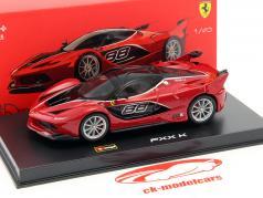Ferrari FXX-K #88 rot / schwarz 1:43 Bburago Signature