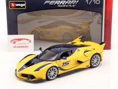 Ferrari FXX-K #15 giallo / blu scuro 1:18 Bburago