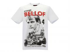 Stefan Bellof Tシャツ Podium GP モナコ 1984 白 / 赤 / 黒