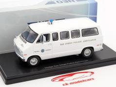Dodge Sportsman San Diego Police Ambulance white 1:43 Neo