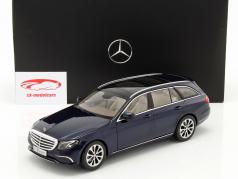 Mercedes-Benz E-Klasse S213 T-Modell cavansit blue 1:18 iScale