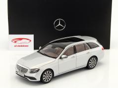 Mercedes-Benz E-Klasse S213 T-Modell iridium silver 1:18 iScale