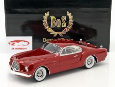 Chrysler D Elegance Baujahr 1953 dunkelrot metallic 1:18 BoS-Models