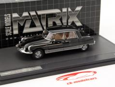 Henri Chapron DS Majesty jaar 1966 zwart 1:43 Matrix