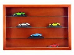 Wooden showcase Maxi 62 x 42 x 10 cm mahogany SAFE