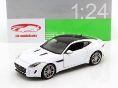 Jaguar F-Type Coupe Baujahr 2015 weiß 1:24 Welly
