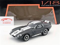 Shelby Cobra Daytona Coupe #8 year 1965 mat black / white 1:18 Lucky DieCast