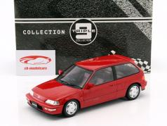 Honda Civic EF-9 SiR Bouwjaar 1990 rood 1:18 Triple 9