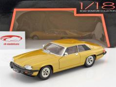 Jaguar XJS Bouwjaar 1975 goud metalen 1:18 Lucky DieCast