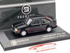 Ford Escort XR3i ano de construção 1990 preto 1:43 Triple 9
