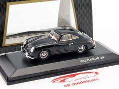 Porsche 356 Bouwjaar 1952 zwart 1:43 LuckyDieCast