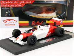 Stefan Bellof McLaren Ford MP4/1C #8 prova Silverstone GP F1 1983 1:18 Minichamps