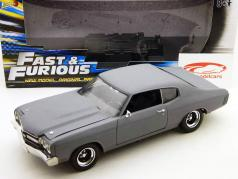Chevrolet Chevelle Fast and Furios Movie Car matt grau 1:18 Ertl