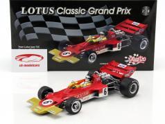 Jochen Rindt Lotus 72C #6 campeón del mundo Francia GP fórmula 1 1970 1:18 Quartzo