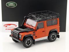 Land Rover Defender 90 Final Edition orange metallic 1:18 Kyosho