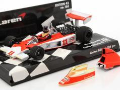 James Hunt McLaren Ford M23 #11 campeón del mundo Sudáfrica GP fórmula 1 1976 1:43 Minichamps
