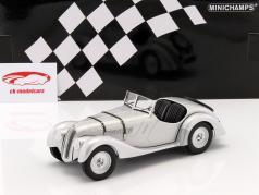 BMW 328 Bouwjaar 1936 zilver 1:18 Minichamps