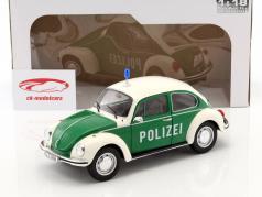 Volkswagen VW Käfer politi grøn / hvid 1:18 Solido