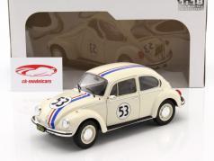 Volkswagen VW Käfer #53 Herbie クリーム 1:18 Solido