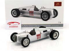 Auto Union Typ C #111 Vinder Schauinsland bjerg løb 1937 Stuck 1:18 CMC