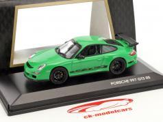 Porsche 911 997 GT3 RS vert / noir 1:43 Lucky Diecast