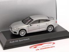 Audi A5 Sportback year 2017 florett silver 1:43 Spark