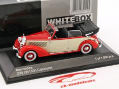 Mercedes-Benz 230 (W153) Cabriolet red / beige 1:43 WhiteBox