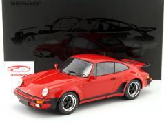 Porsche 911 (930) Turbo ano de construção 1977 vermelho 1:12 Minichamps