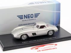 Ferrari 375 MM Scaglietti Coupe year 1954 silver 1:43 Neo