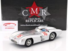 J.M. Fangio Mercedes-Benz W196 Stromlinie #16 World Champion formula 1 Winner GP Italy 1954 1:18 CMR