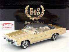 Buick Le Sabre Custom Sport Coupe gold / schwarz 1:18 BoS-Models