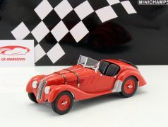 BMW 328 Bouwjaar 1936 rood 1:18 Minichamps