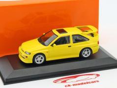 Ford escolta Cosworth ano de construção 1992 amarelo 1:43 Minichamps