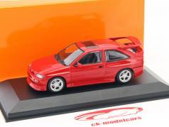 Ford Escort Cosworth ano de construção 1992 vermelho 1:43 Minichamps