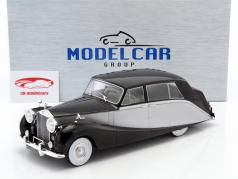 Rolls Royce Silver Wraith Empress by Hooper schwarz / silber 1:18 Model Car Group