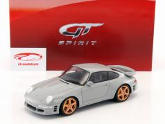 Porsche Ruf Turbo R grijs 1:18 GT-Spirit
