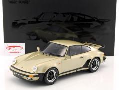 Porsche 911 (930) Turbo ano de construção 1977 ouro metálico 1:12 Minichamps
