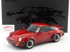 Porsche 911 (930) Turbo ano de construção 1977 carmim vermelho 1:12 Minichamps