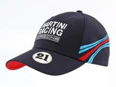 Porsche Baseball-Cap Martini Racing #21 donkerblauw