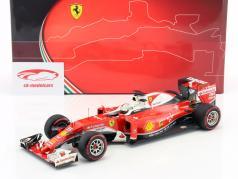 Sebastian Vettel Ferrari SF16-H #5 GP Italië formule 1 2016 1:18 BBR